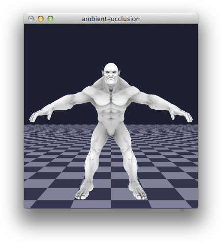 beast ambient occlusion in libigl