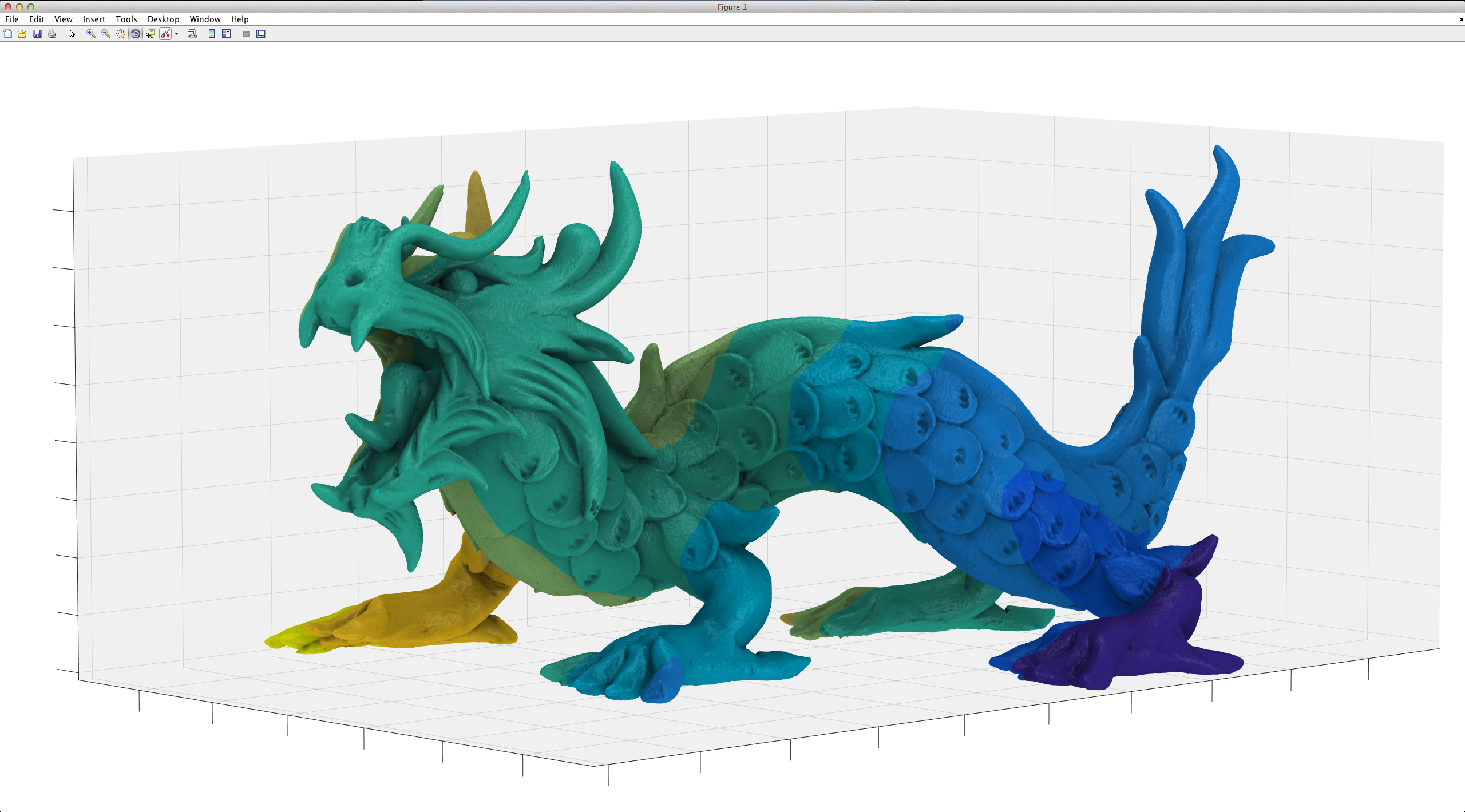xyz dragon matlab ambient occlusion