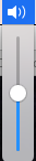 volume menu bar